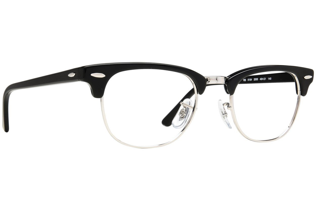 Ray-Ban® RX5154 Eyeglasses - Black
