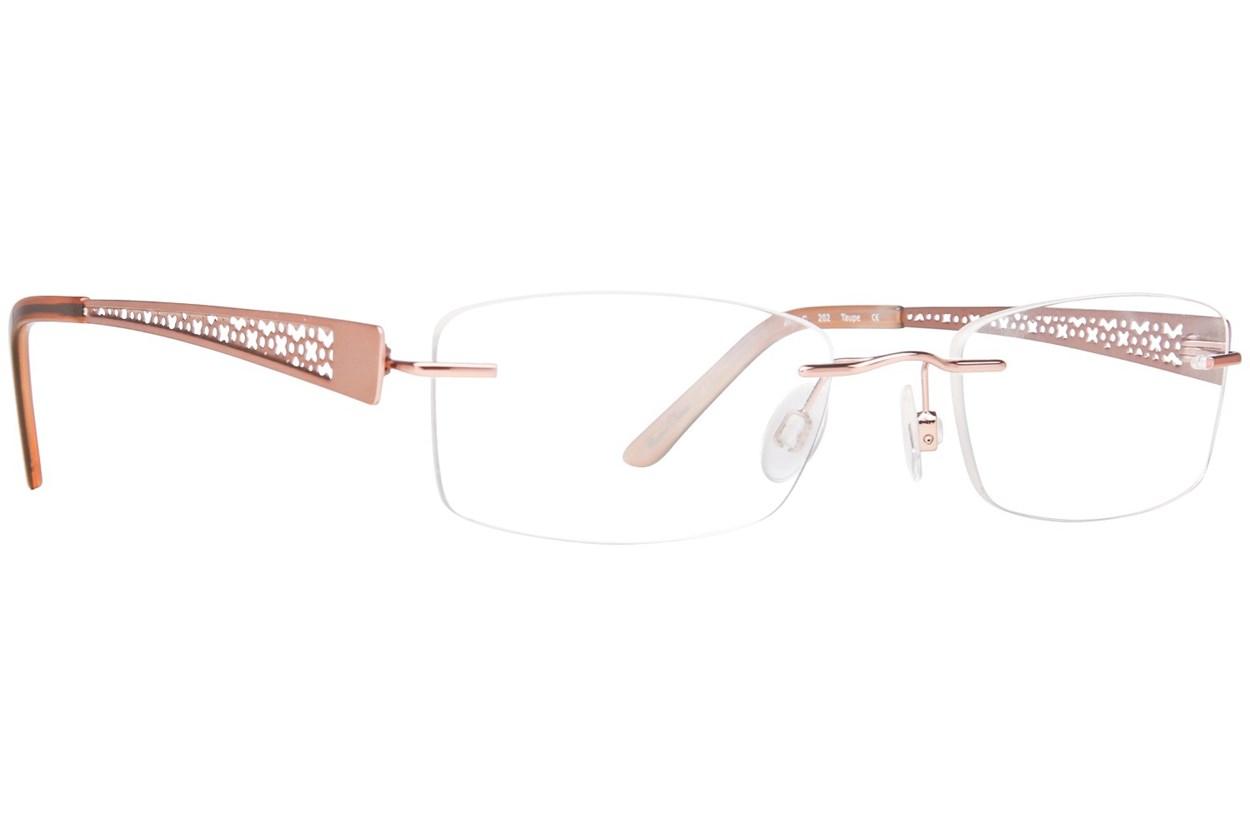 Invincilites Zeta C Tan Eyeglasses