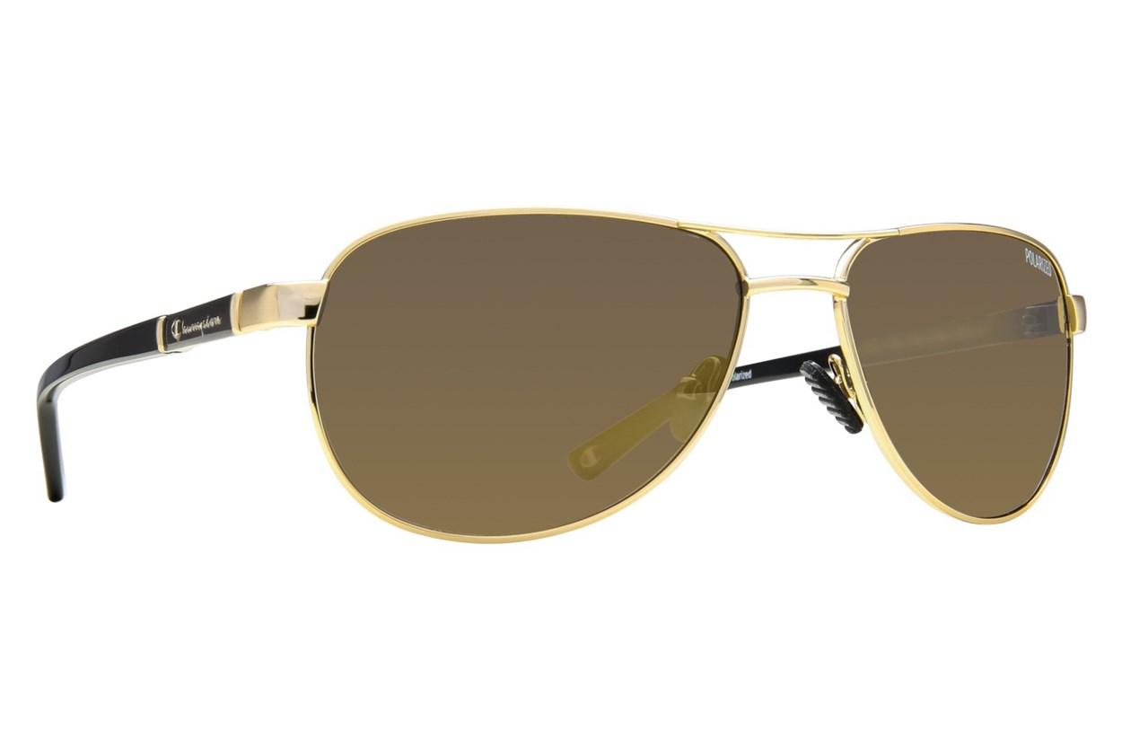 Champion 6004 Gold Sunglasses