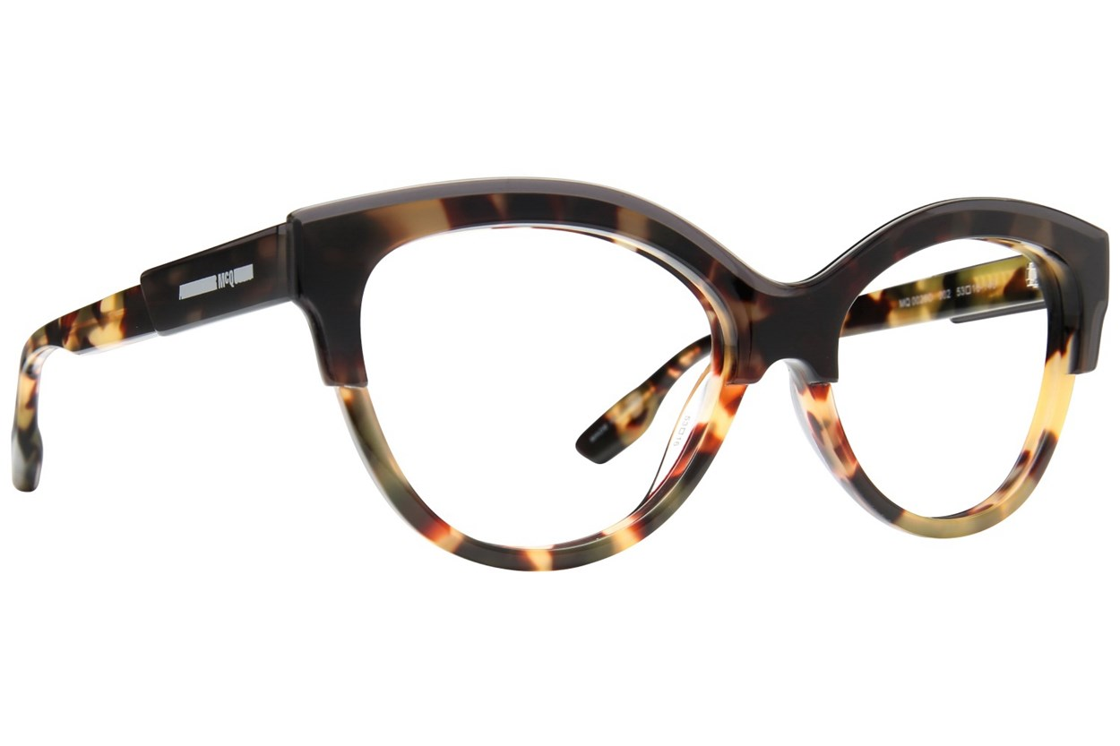 MCQ By Alexander Mcqueen MQ0026O Tortoise Eyeglasses
