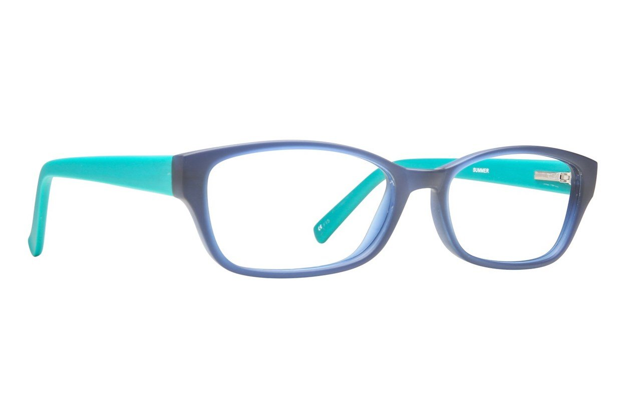 Paws n Claws Summer Blue Eyeglasses