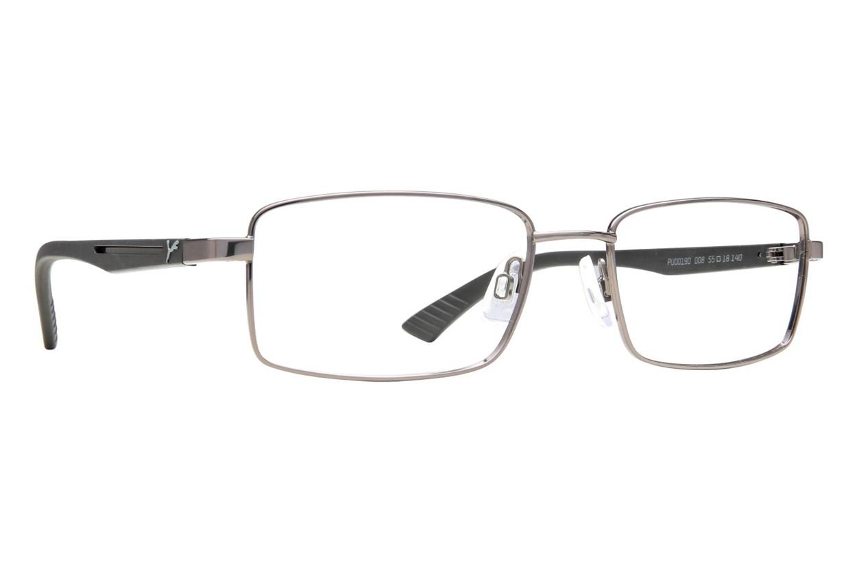 Puma PU0019O Silver Eyeglasses