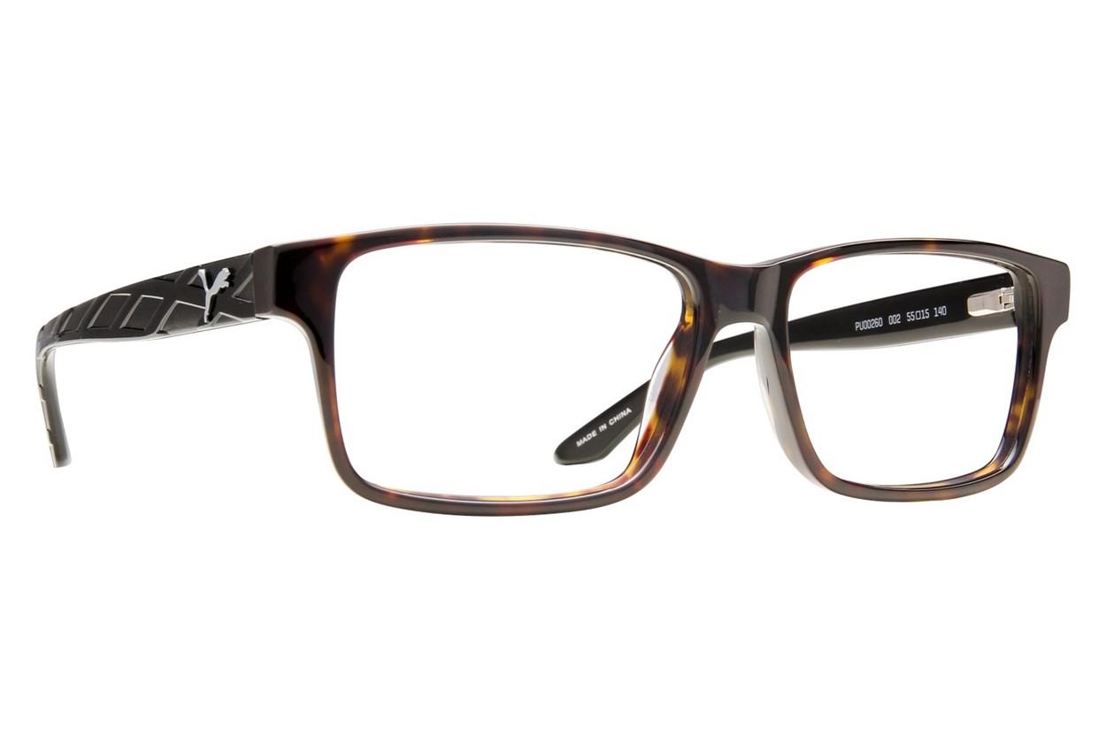 Puma PU0026O Tortoise Eyeglasses