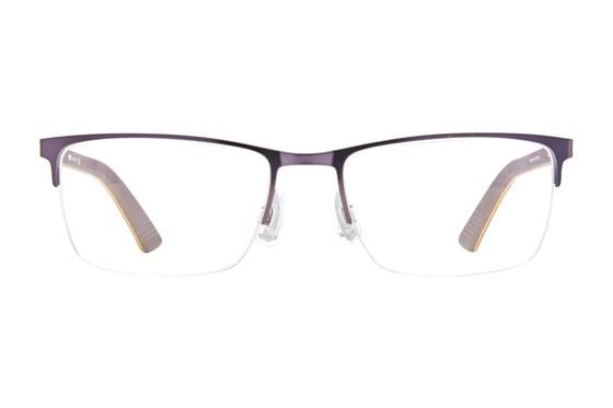 Puma PU0028O Blue Eyeglasses
