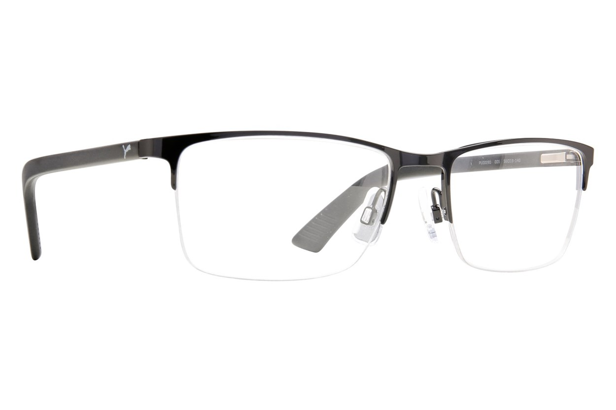 Puma PU0028O Black Eyeglasses