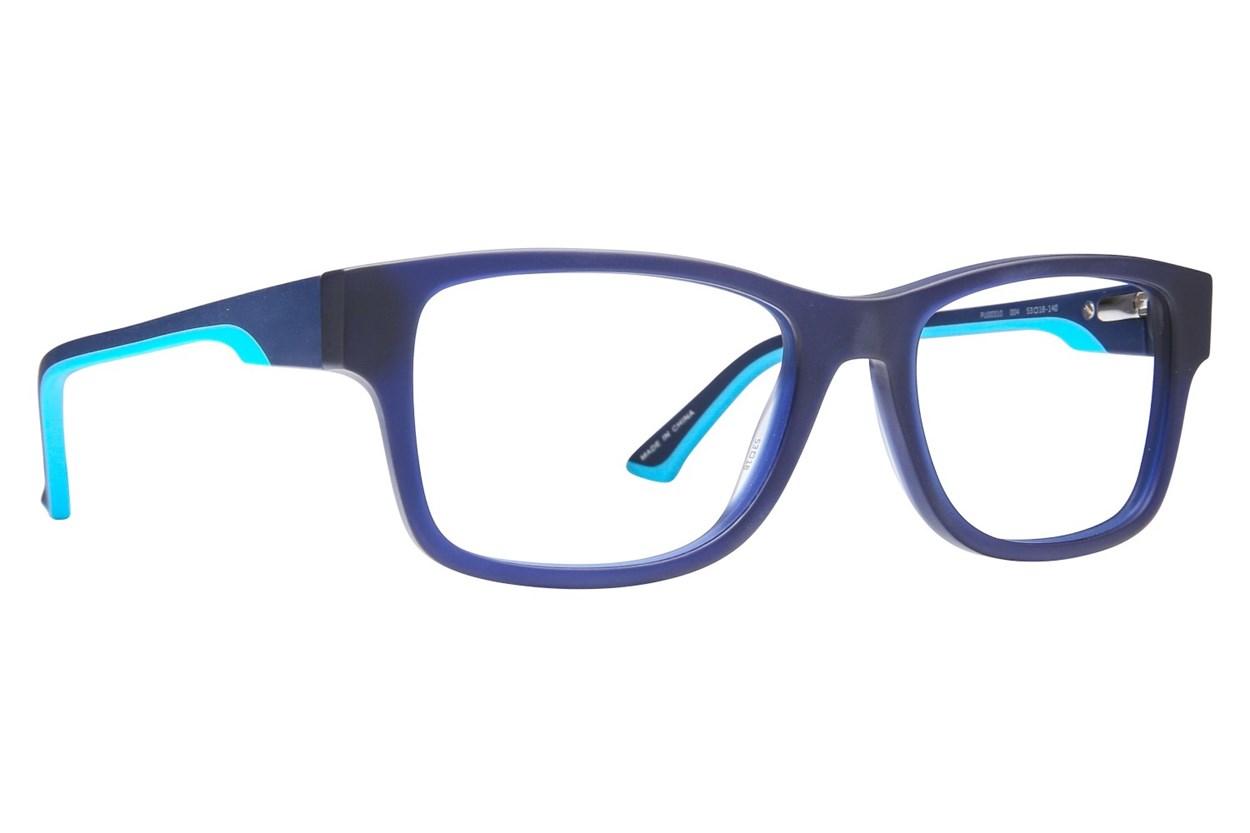 Puma PU0031O Blue Eyeglasses