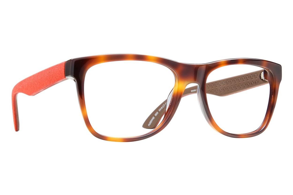 Puma PU0044O Tortoise Eyeglasses