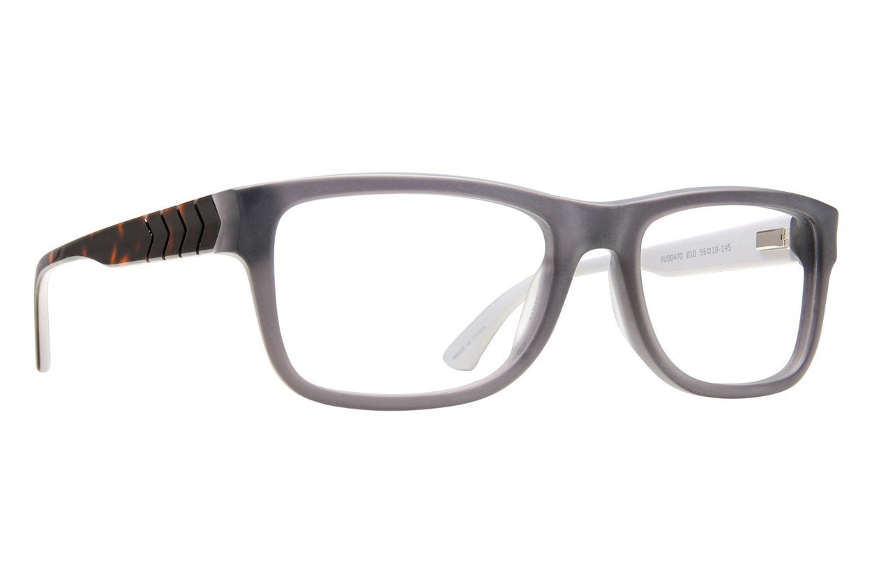 Puma PU0047O Gray Eyeglasses