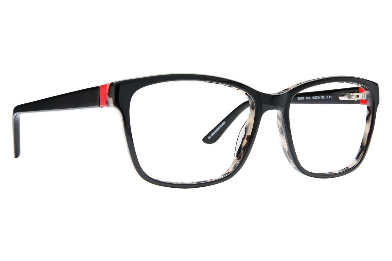 GX By Gwen Stefani GX005 Black Eyeglasses