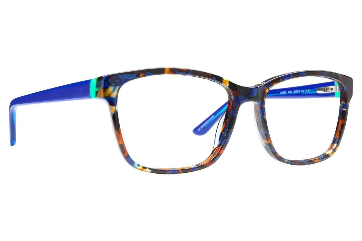GX By Gwen Stefani GX005 Blue Eyeglasses
