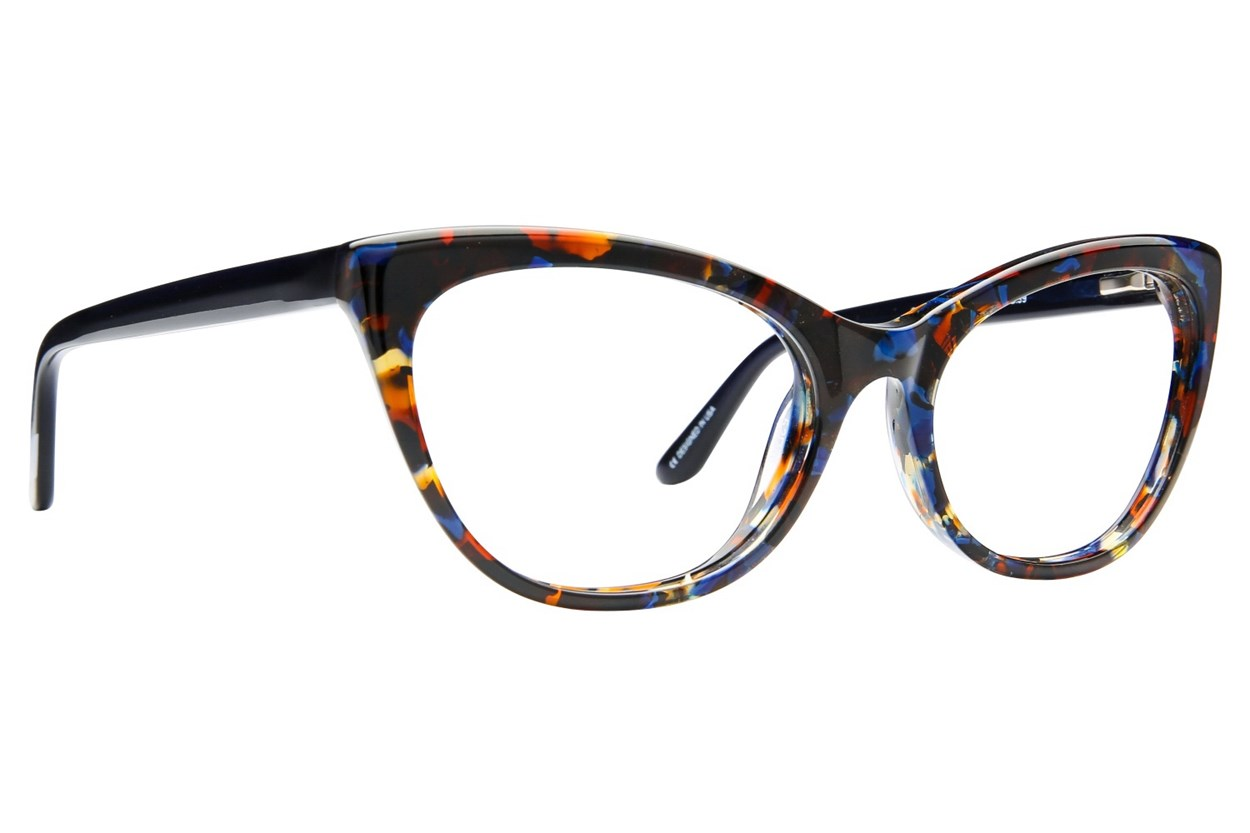 GX By Gwen Stefani GX008 Eyeglasses - Blue