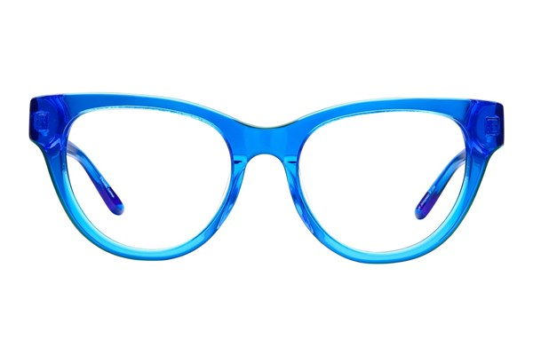 GX By Gwen Stefani GX013 Blue Eyeglasses