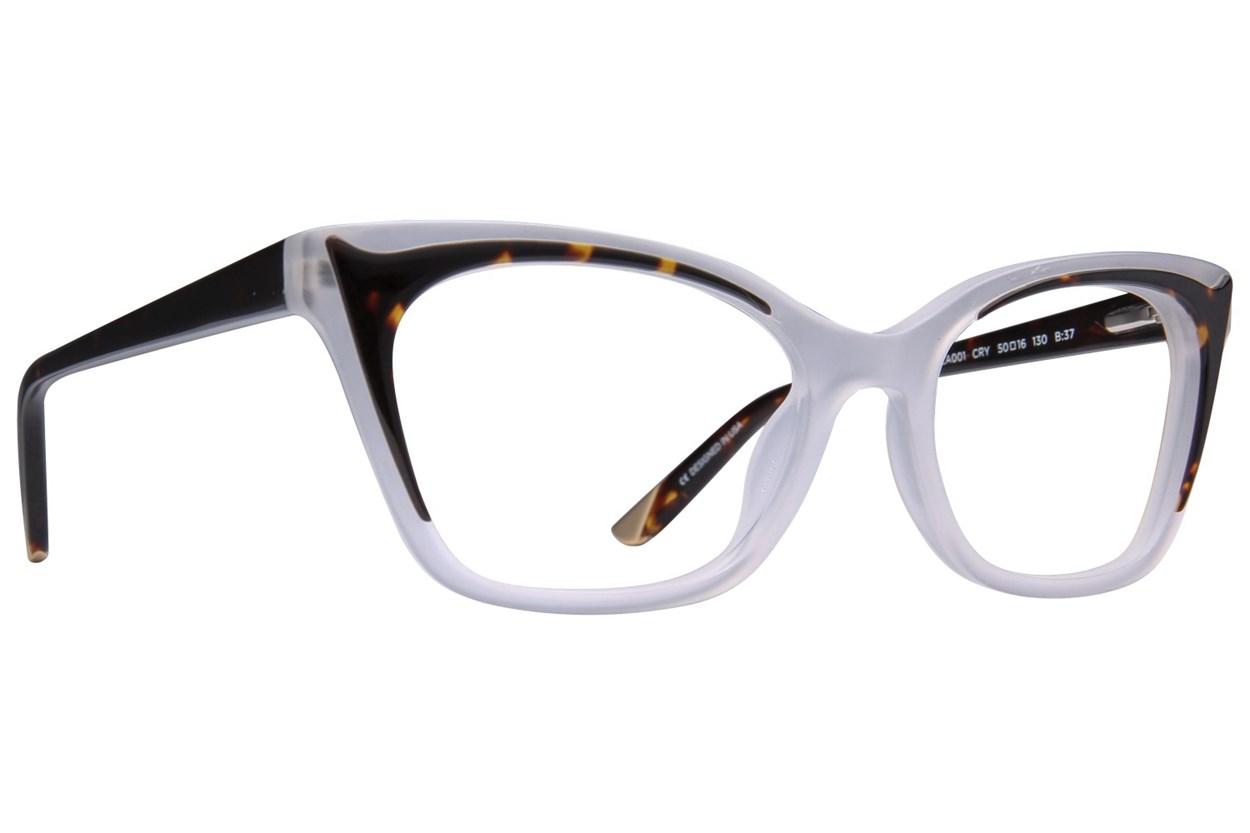 L.A.M.B. By Gwen Stefani LA001 Clear Eyeglasses