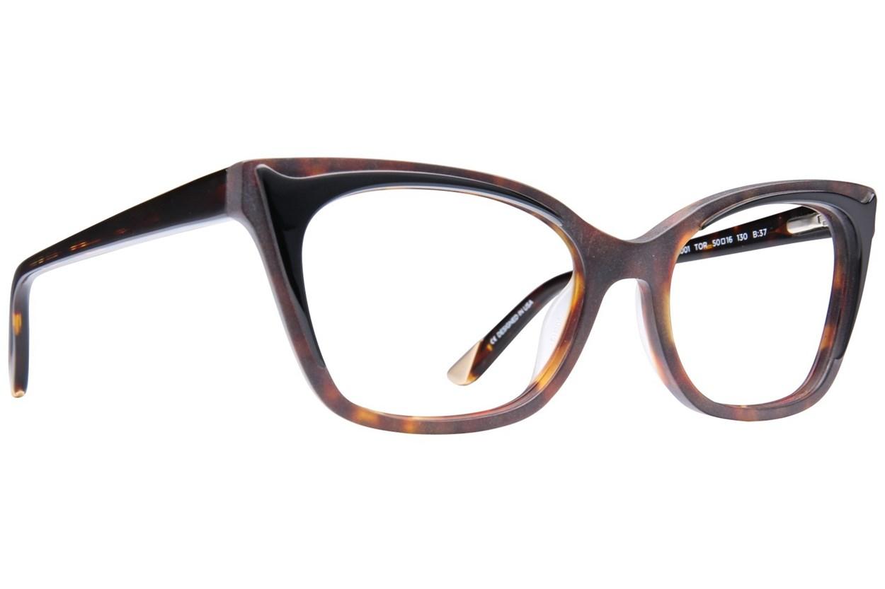 L.A.M.B. By Gwen Stefani LA001 Tortoise Eyeglasses