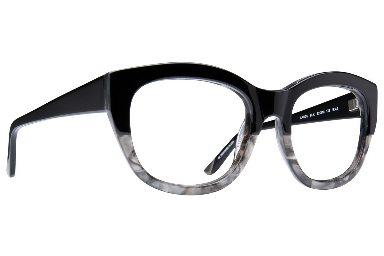 L.A.M.B. By Gwen Stefani LA005 Black Eyeglasses
