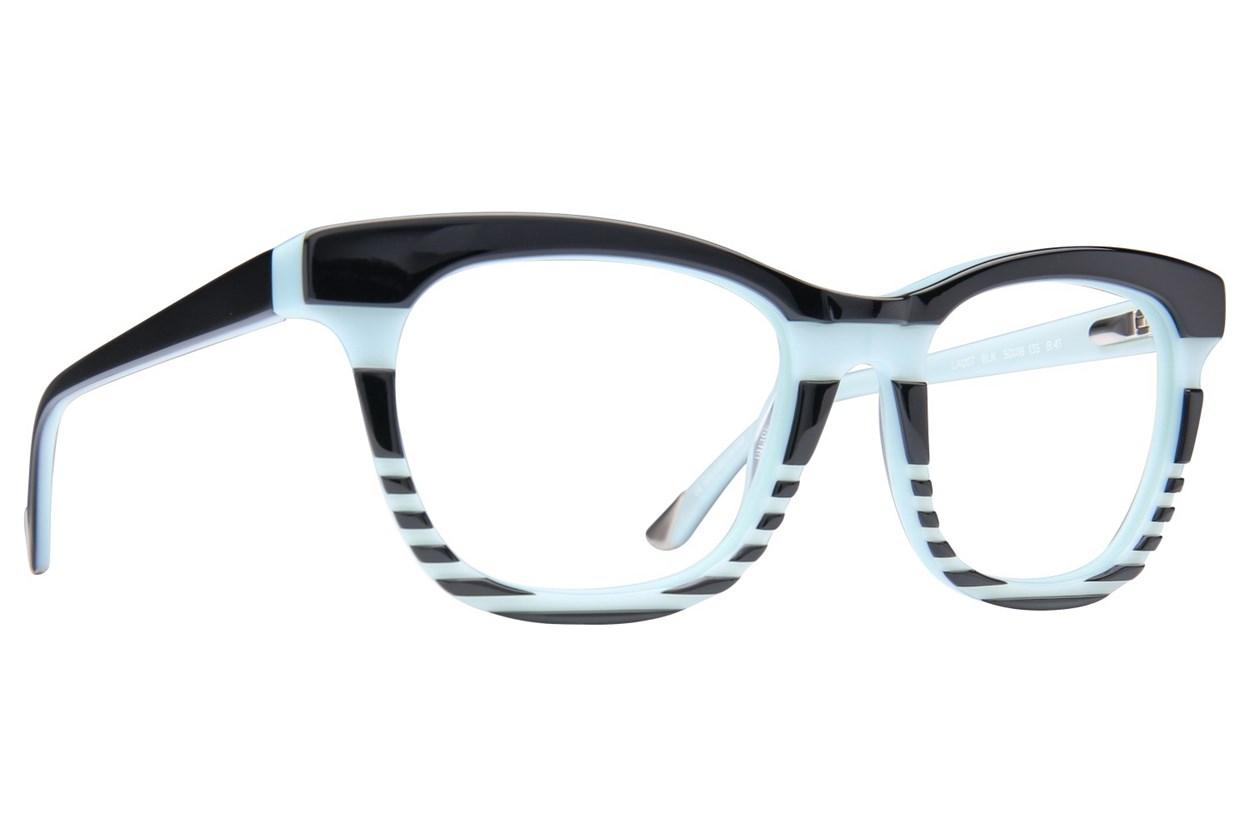 L.A.M.B. By Gwen Stefani LA007 Black Eyeglasses