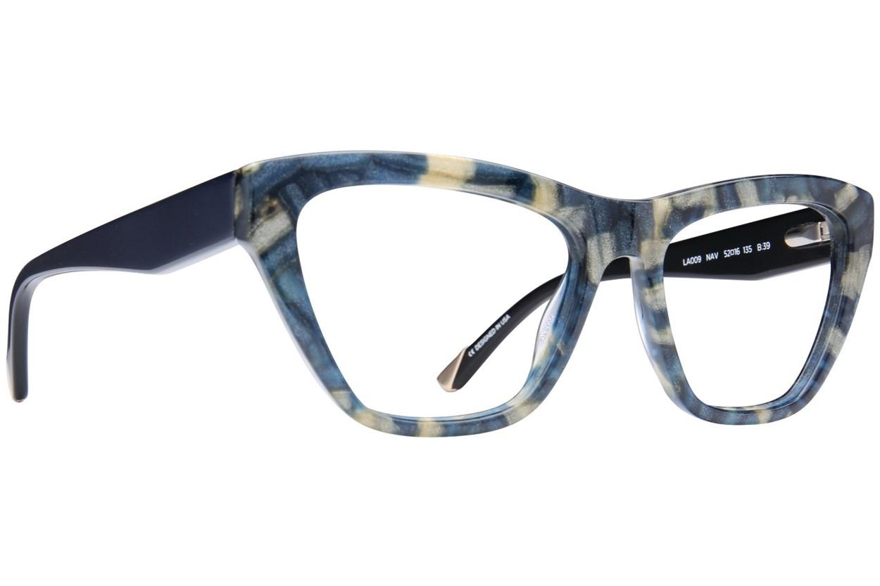 L.A.M.B. By Gwen Stefani LA009 Blue Eyeglasses