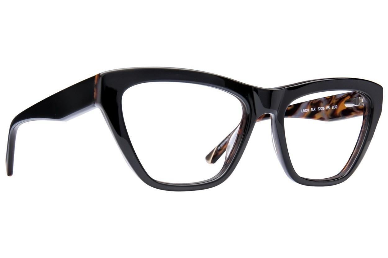 L.A.M.B. By Gwen Stefani LA009 Black Eyeglasses