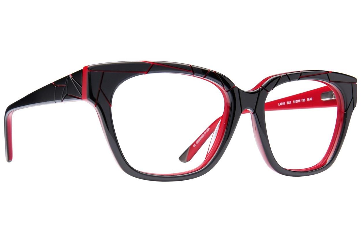 L.A.M.B. By Gwen Stefani LA010 Black Eyeglasses