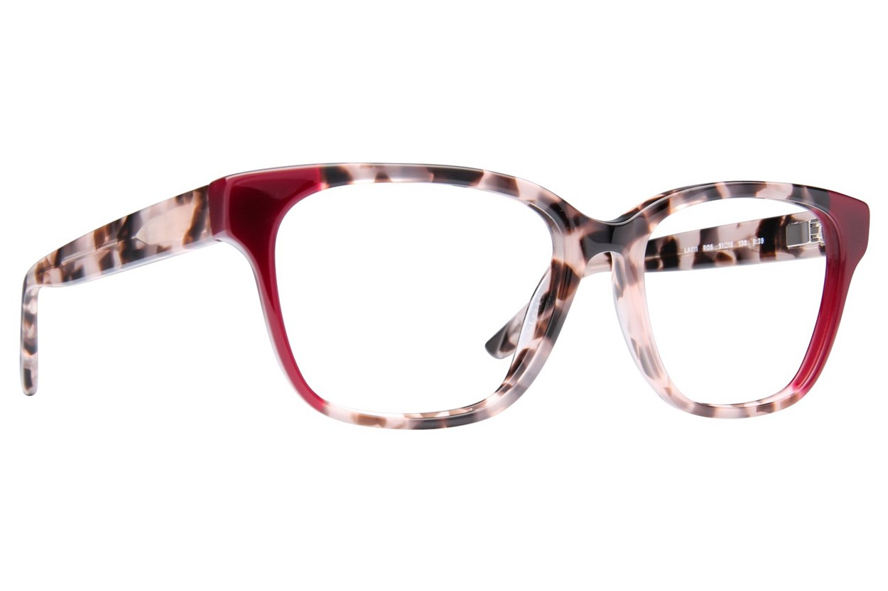 L.A.M.B. By Gwen Stefani LA011 Red Eyeglasses