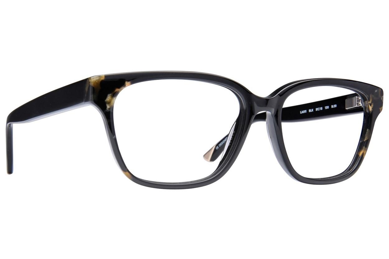 L.A.M.B. By Gwen Stefani LA011 Black Eyeglasses