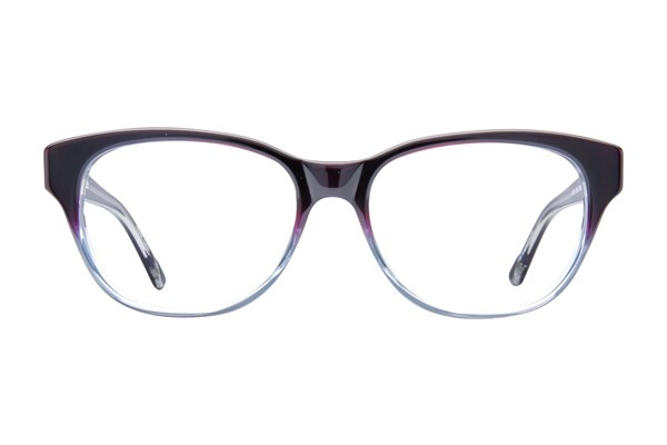 L.A.M.B. By Gwen Stefani LA014 Eyeglasses - Purple