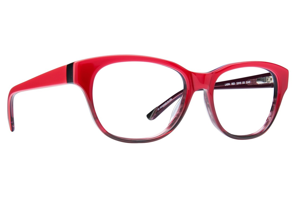 L.A.M.B. By Gwen Stefani LA014 Eyeglasses - Red