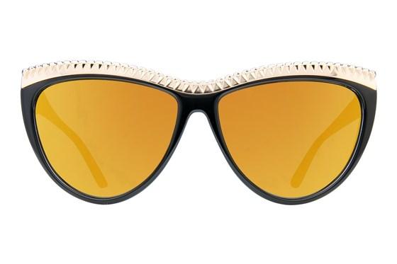 L.A.M.B. By Gwen Stefani LA500 Black Sunglasses