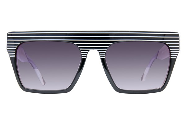 L.A.M.B. By Gwen Stefani LA502 Black Sunglasses