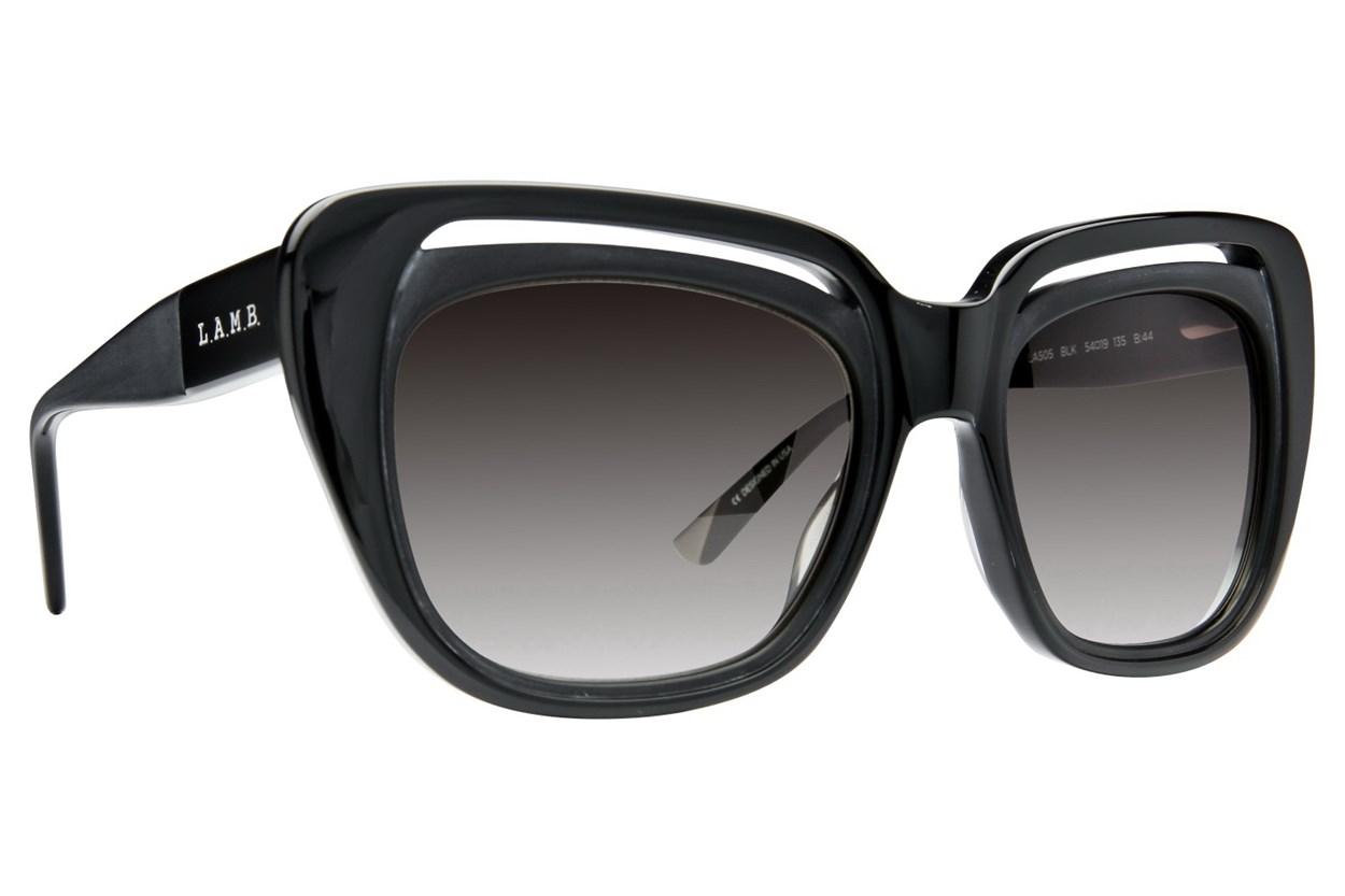L.A.M.B. By Gwen Stefani LA505 Black Sunglasses