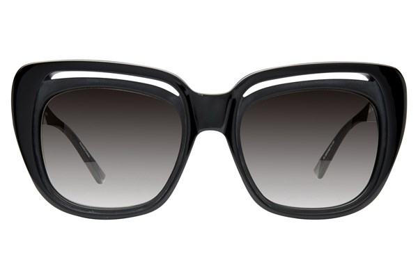 L.A.M.B. By Gwen Stefani LA505 Sunglasses - Black