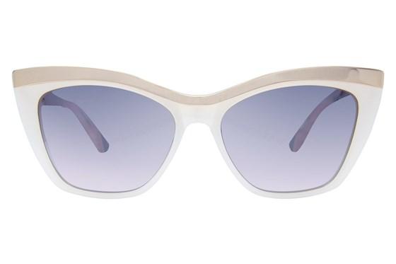 L.A.M.B. By Gwen Stefani LA507 White Sunglasses