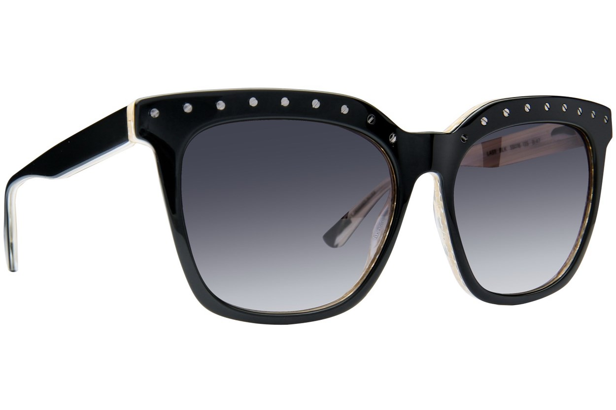 L.A.M.B. By Gwen Stefani LA511 Black Sunglasses