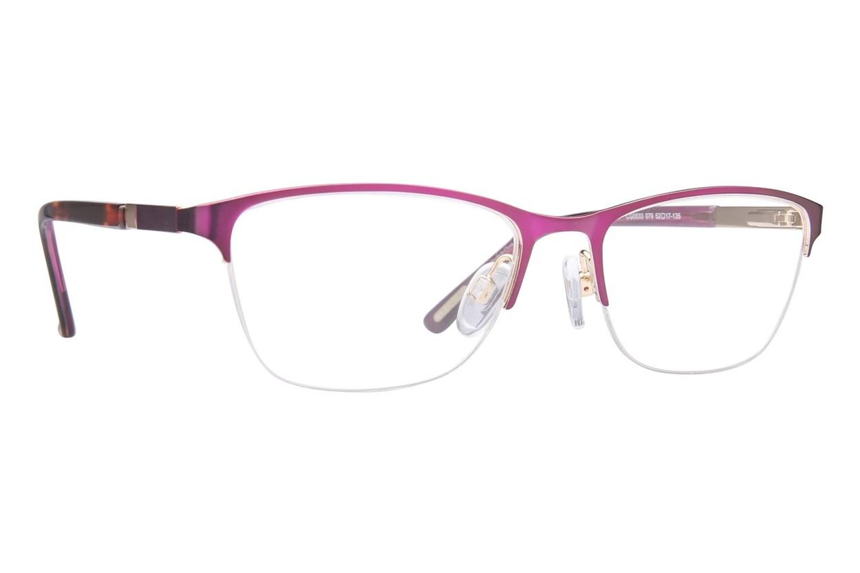 Covergirl CG0533 Purple Eyeglasses