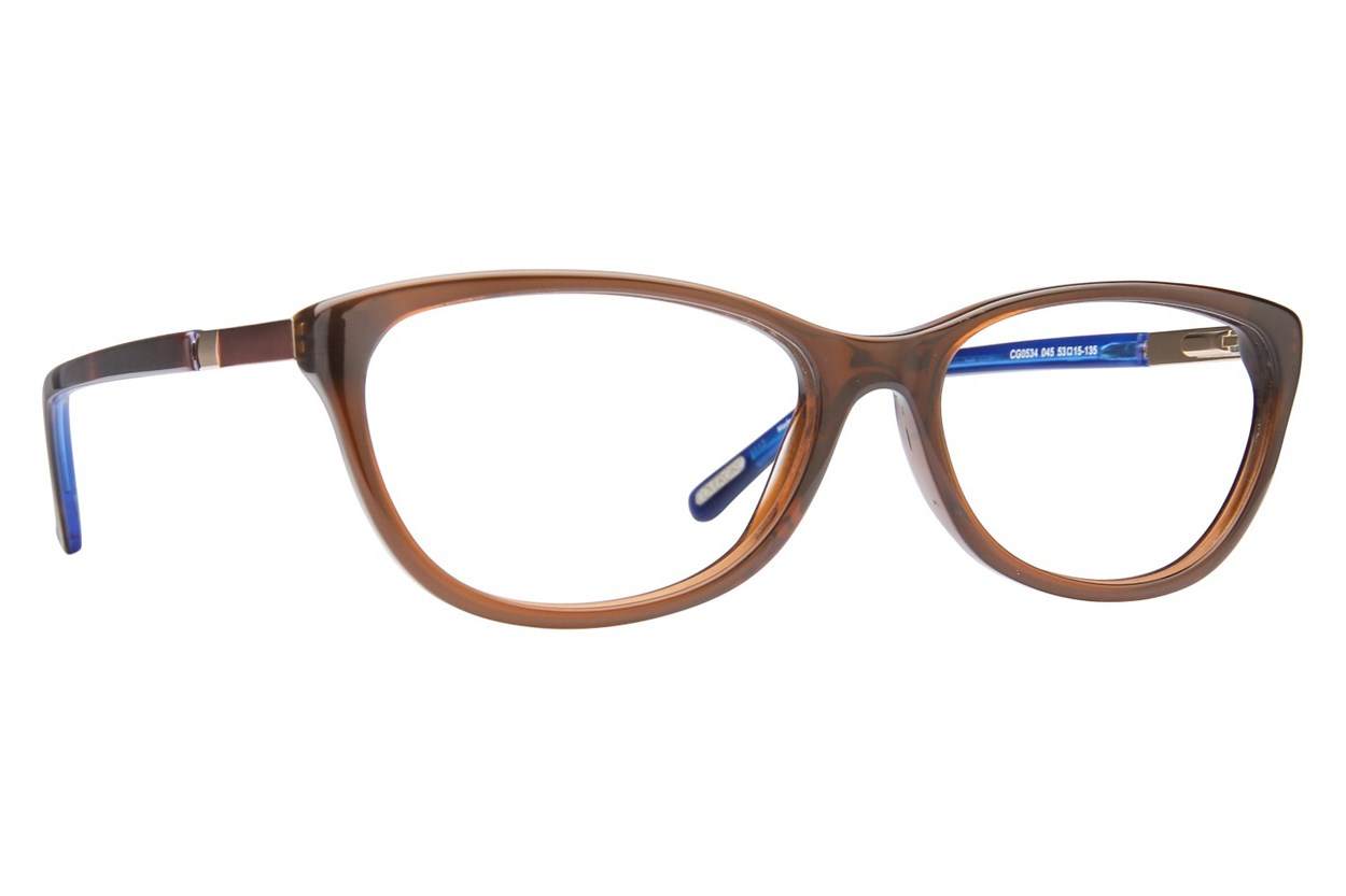 Covergirl CG0534 Eyeglasses - Brown