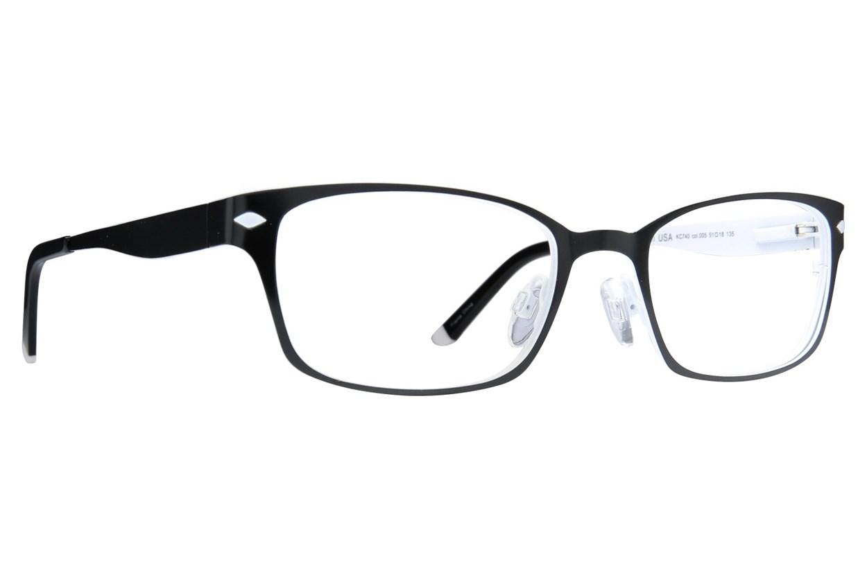Kenneth Cole Reaction KC0740 Black Eyeglasses