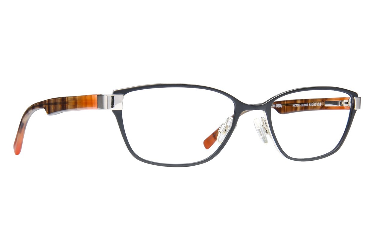 Kenneth Cole Reaction KC0758 Eyeglasses - Black