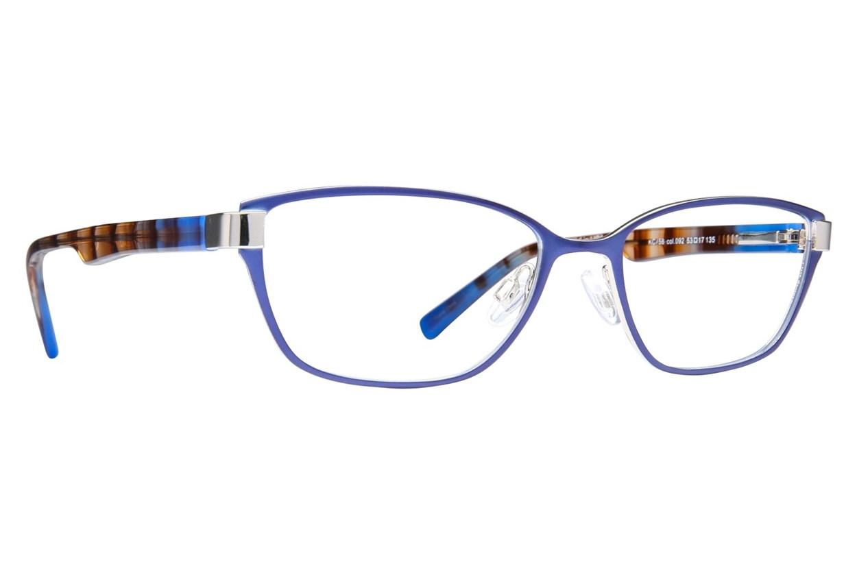 Kenneth Cole Reaction KC0758 Blue Eyeglasses