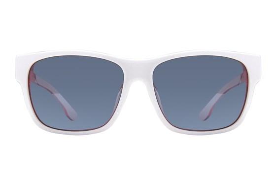 Diesel DL 0012 White Sunglasses
