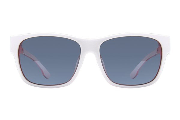 Diesel DL 0012 White Sunglasses