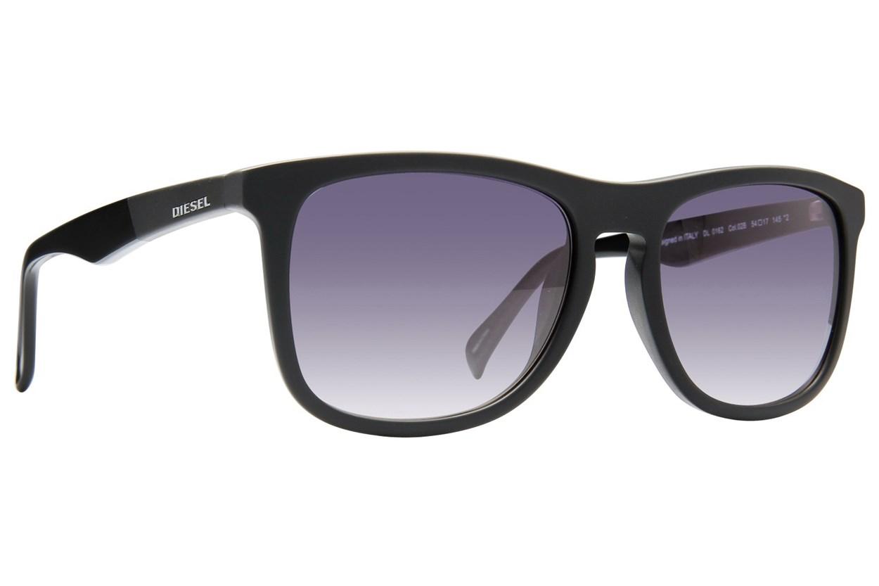 Diesel DL 0162 Black Sunglasses