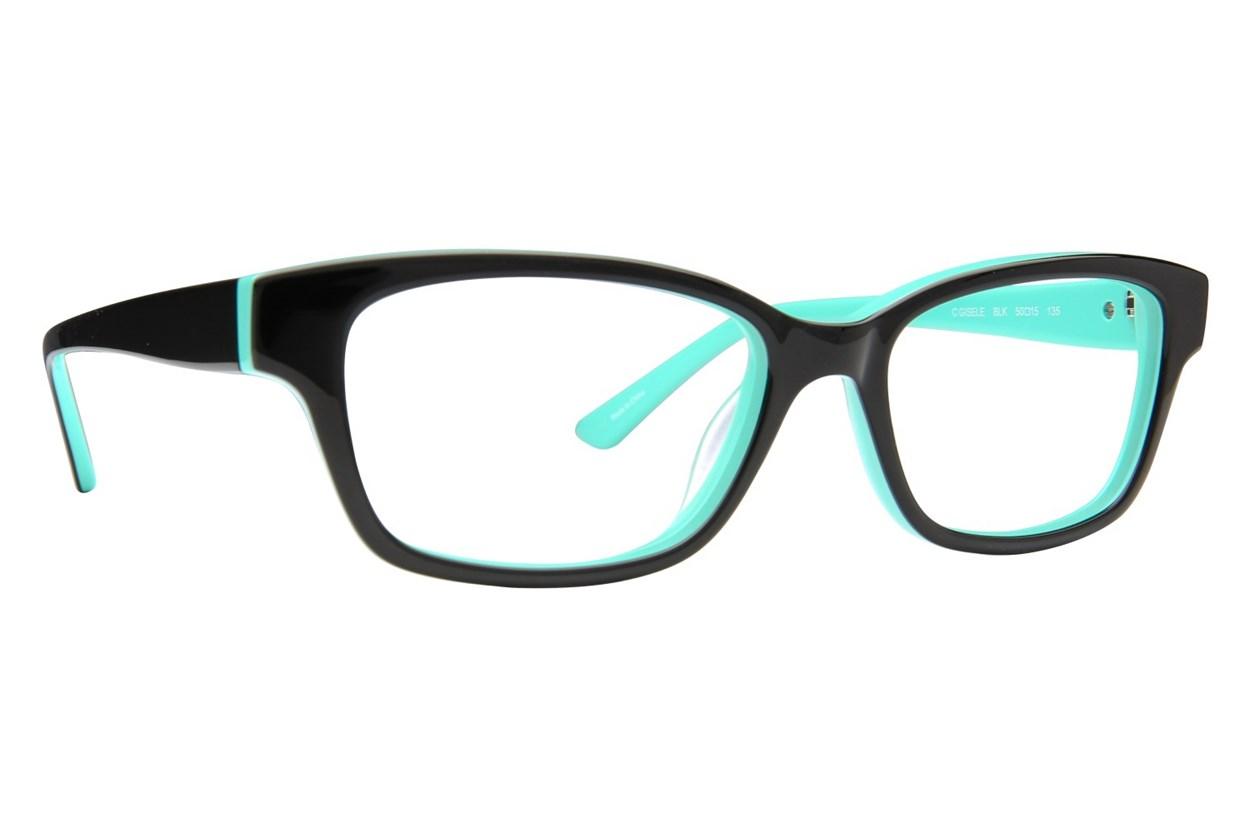 Candie's Gisele Black Eyeglasses