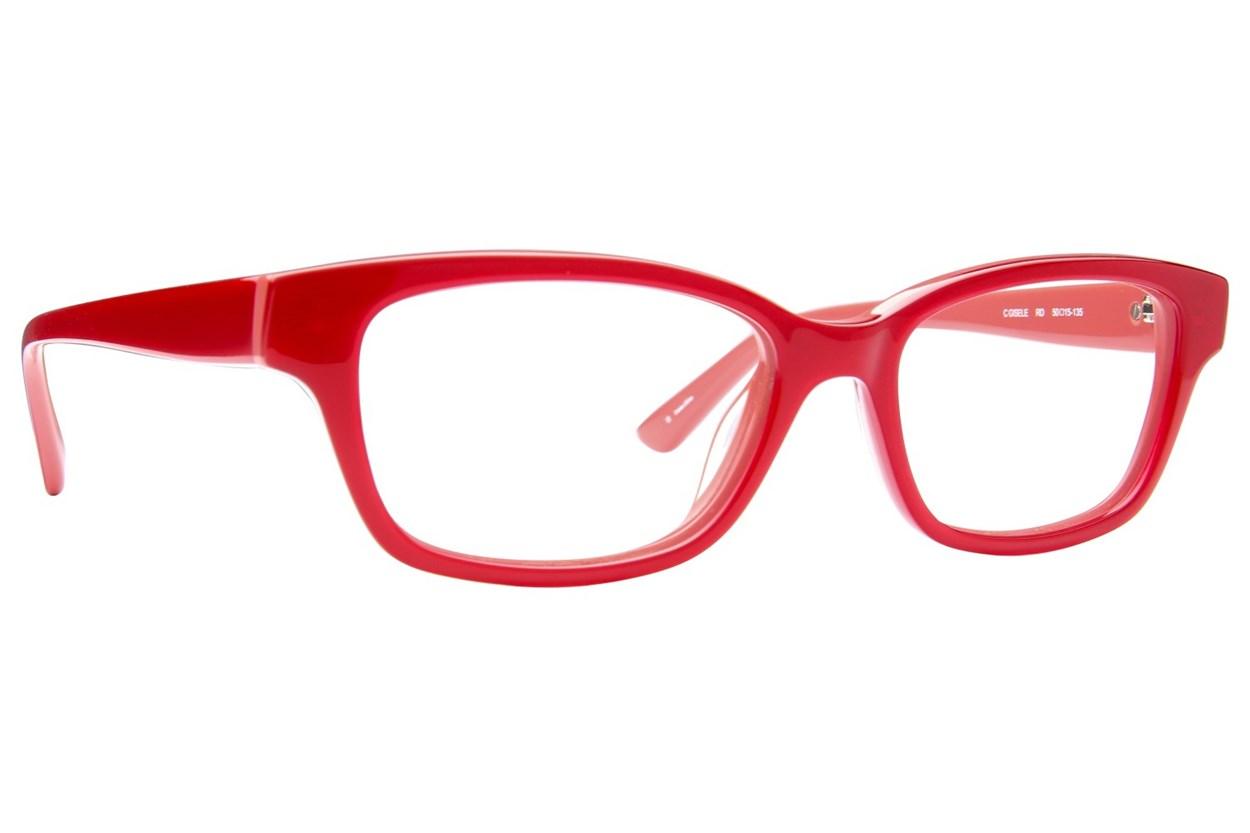 Candie's Gisele Red Eyeglasses