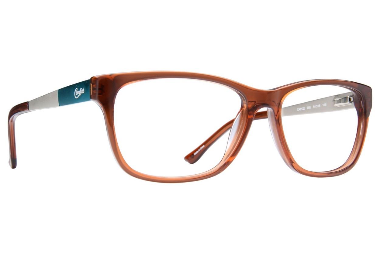 Candie's CA0132 Brown Eyeglasses