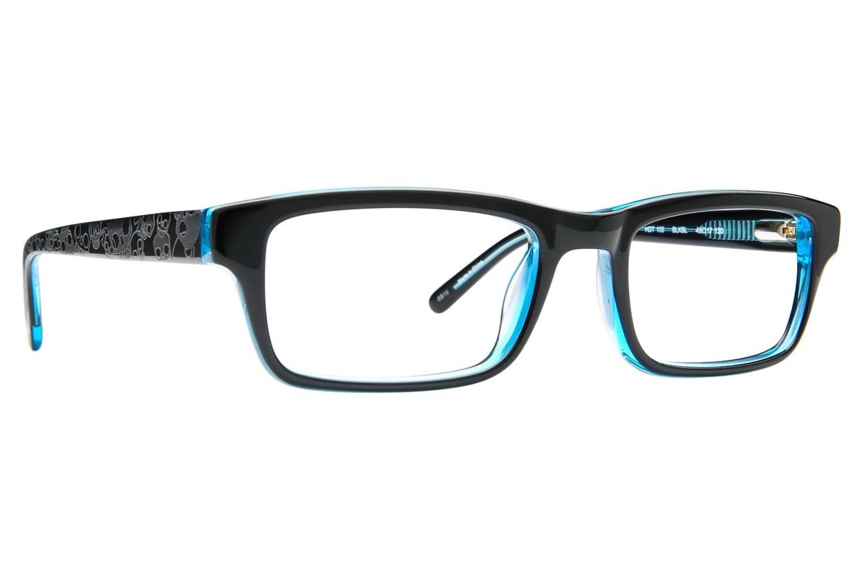 Harley Davidson HDT 105 Black Eyeglasses