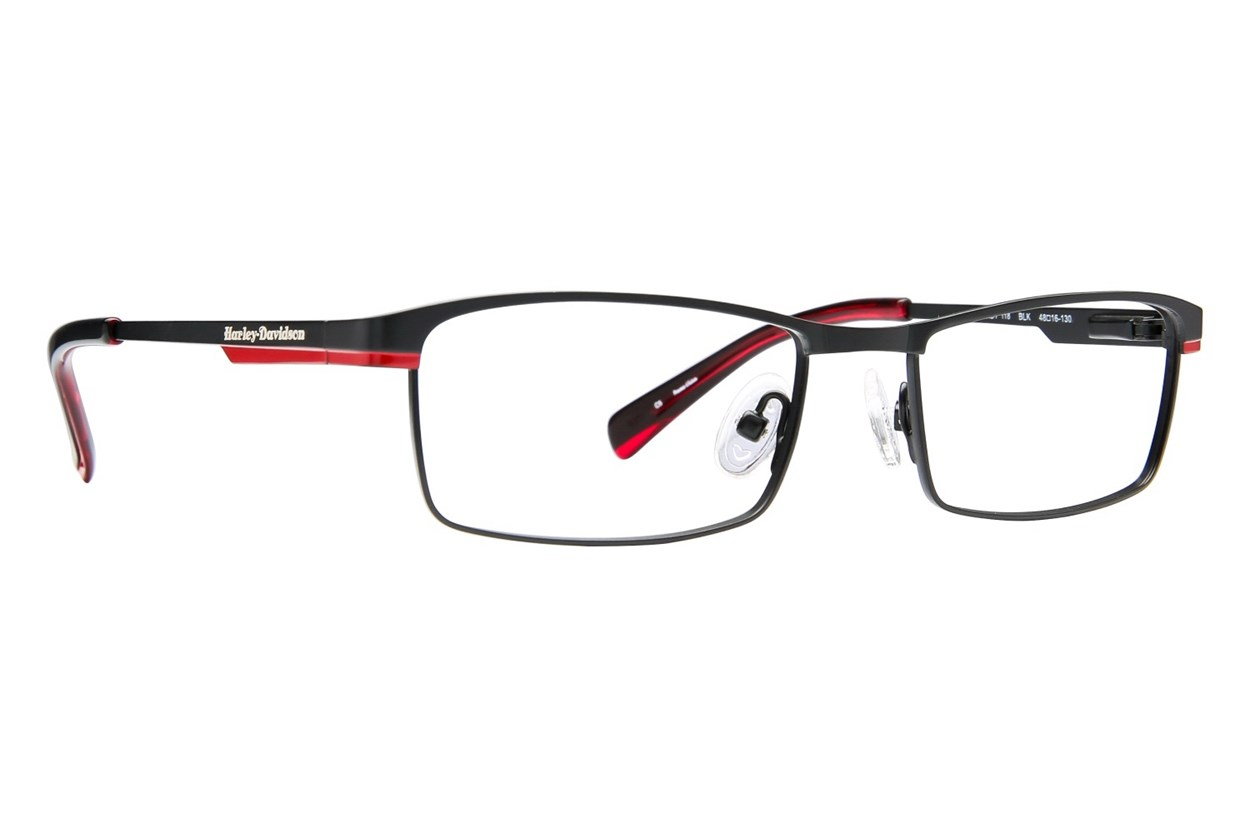 Harley Davidson HDT 118 Black Eyeglasses