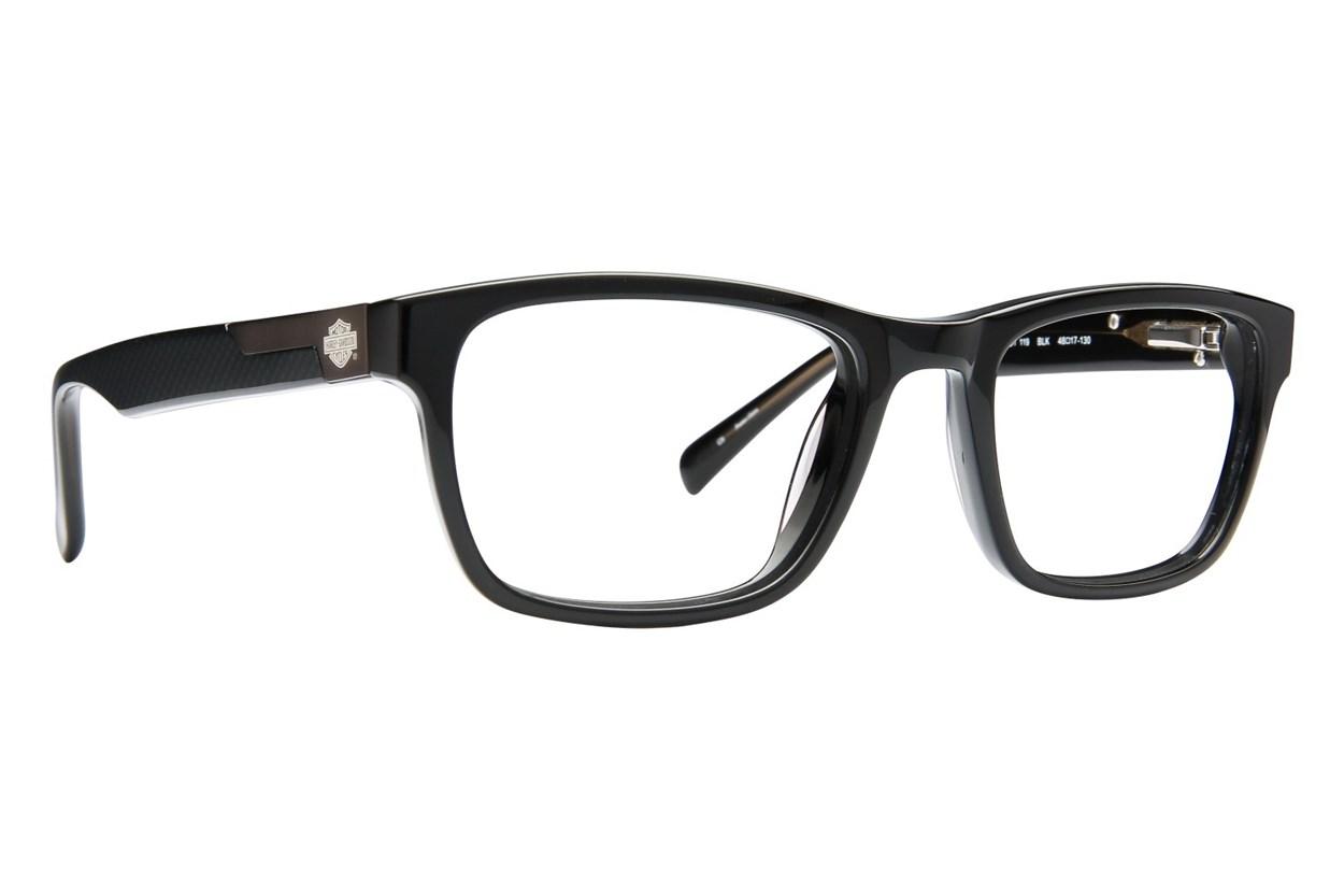 Harley Davidson HDT 119 Black Eyeglasses