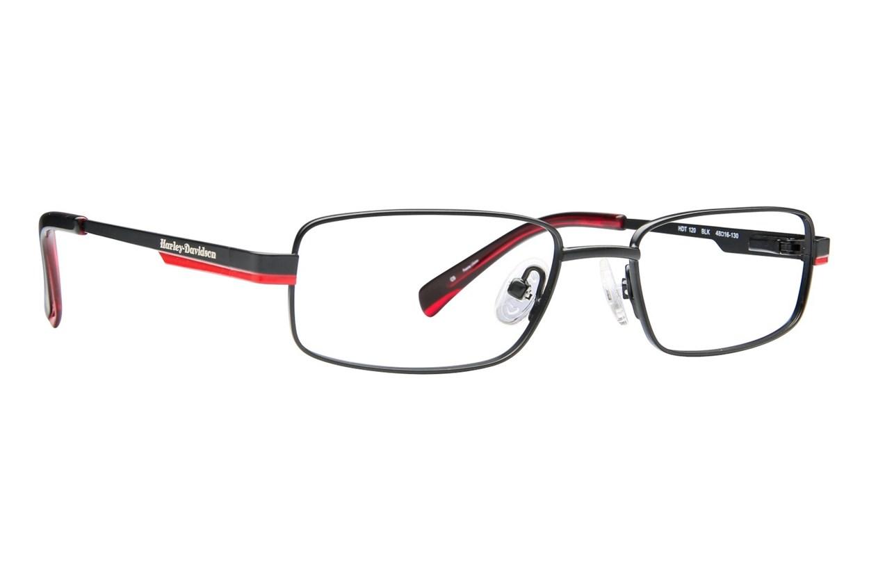 Harley Davidson HDT 120 Black Eyeglasses
