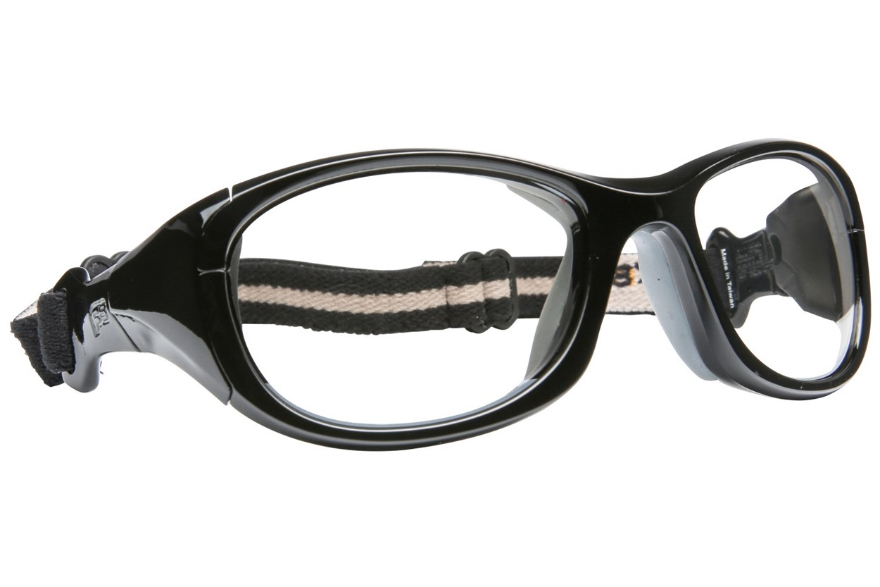 Rec Specs All Pro Goggle Black Eyeglasses