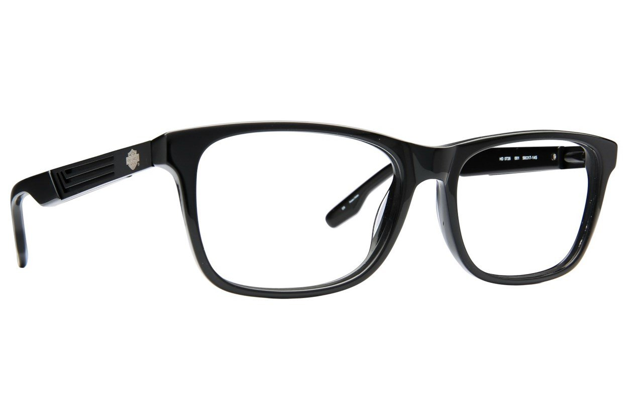 Harley Davidson HD 726 Black Eyeglasses